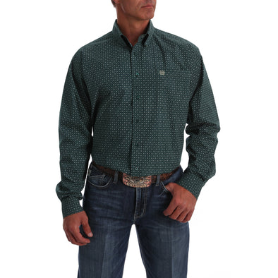 Cinch Mens LS Print Shirt