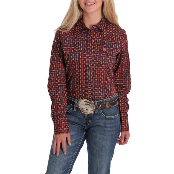 Cinch Womens LS Shirt