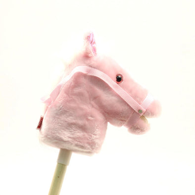 Talkin' Stick Horse Small Pink