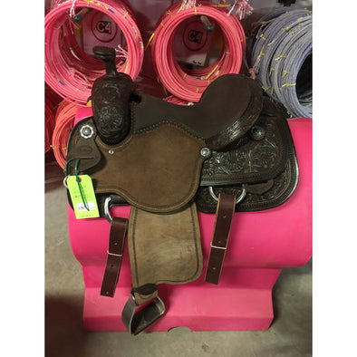 "HR  15"" Signature Roping Saddle"