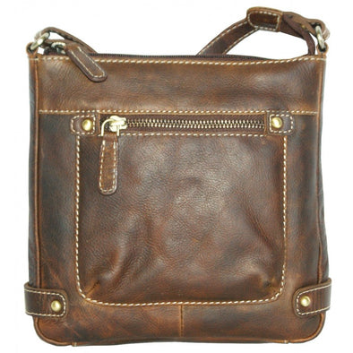 Rugged Earth Leather Bag