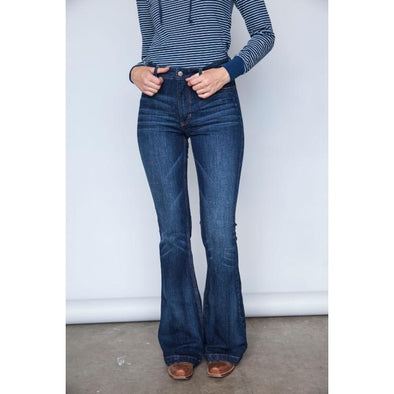 Kimes Ranch Ladies Jennifer Jeans - High Rise Flare Bottom