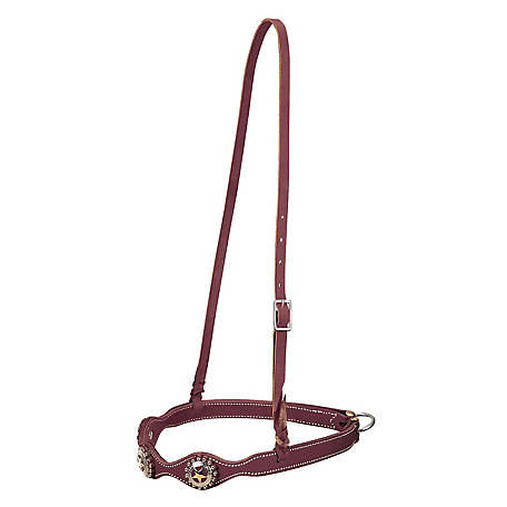Weaver Texas Star Scalloped Noseband, 1""