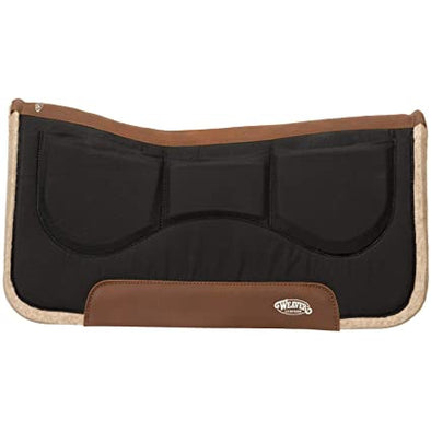 "Weaver Wool Blend Felt Shim Saddle Pad, 32"" x 32"""