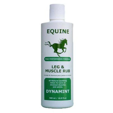 Dynamint Equine Leg & Muscle Rub - 500ml - Lot # 00184001