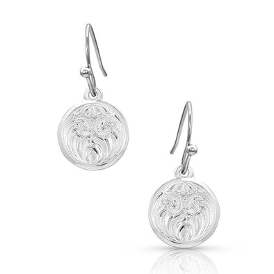 Montana Silversmith Silverdrop Charm Earrings