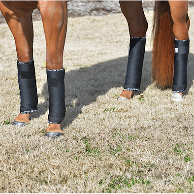 "Classic Equine Quilted Standing Wrap (2 - 12"" and 2 - 14"")"
