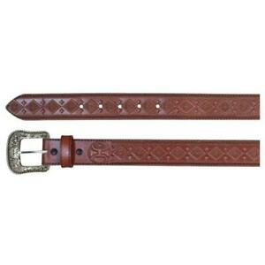 Hooey Men's Belt Diamond Tooled