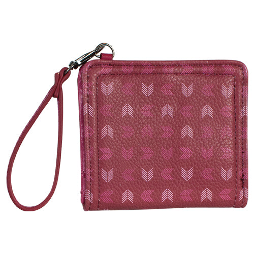 Catchfly Mini Bi-Fold Wallet Chevron