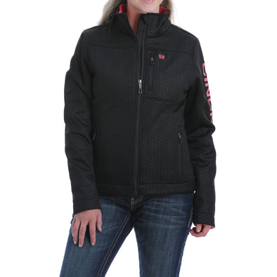 Cinch Womens CC Emboss Bond Jacket Black