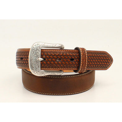 Ariat Men's Belt - Medium Brown Distressed