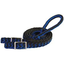 "Weaver Braided Nylon Barrel Reins, 1/2"" x 8'"