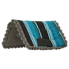 "Weaver Felt Lined Pony Saddle Pad - 23"" x 23"" - Navajo Print"