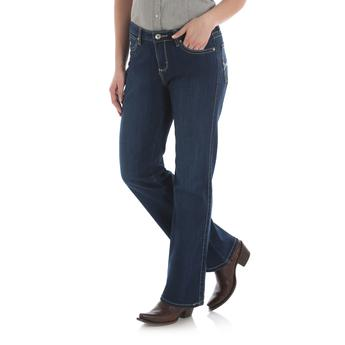 Wrangler Women's Aura From The Women At Wrangler With Booty Up Technology Jean - Irvines Saddles