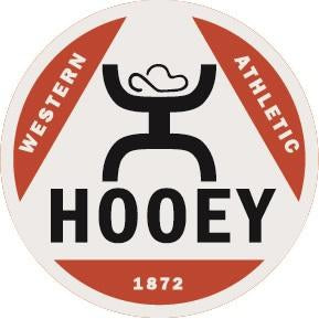 "Hooey Western Athletic 4"" Circle Sticker"
