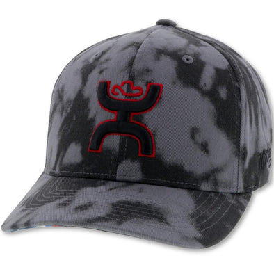 """Chris Kyle"" Hooey  Grey/Black Camo Flexfit w/Black and Red Logo"