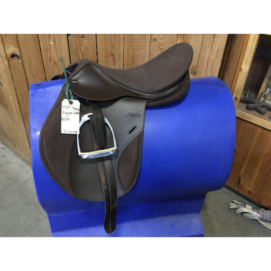 "Used 17.5"" Tekna English Saddle"