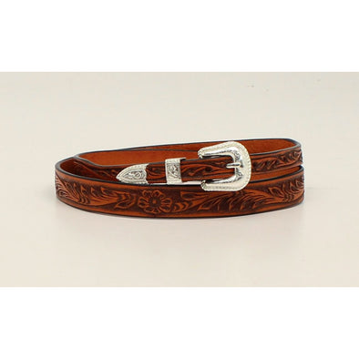 "Hat Band 5/8"" Tooled Tan 27"""