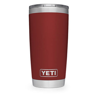 Yeti Rambler 20oz Tumbler Brick Red