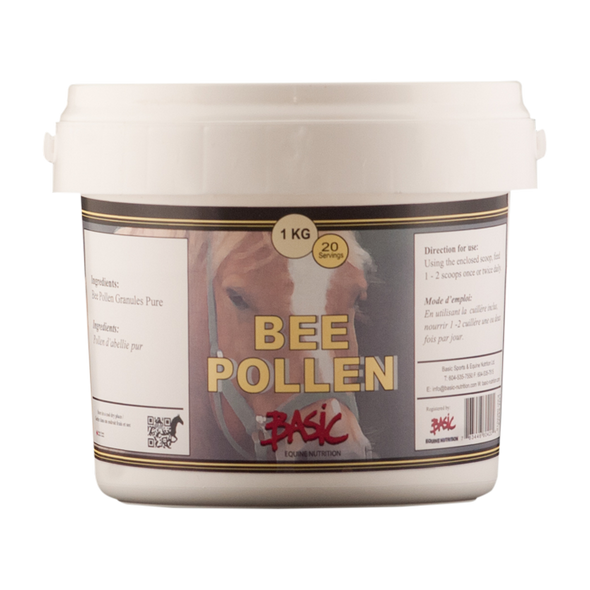 Basic Equine Bee Pollen 1 KG - Irvines Saddles