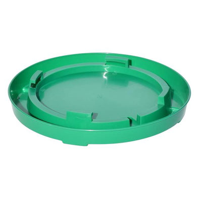 TuffStuff Enclosed Poultry Drinker Gallon Base  Green