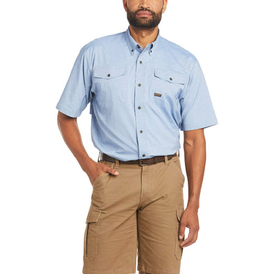 Ariat Mens Rebar MD TGH VTTK SS Work Shirt