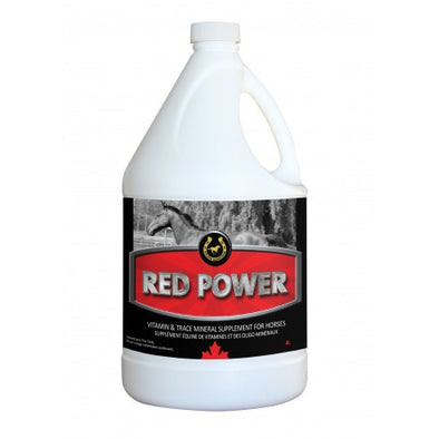 Golden Horseshoe Brand Red Power Vitamin and Trace Mineral Supplement, 4L