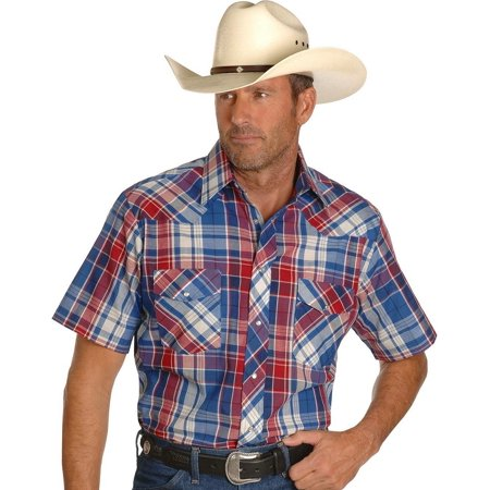 Wrangler Men's Western Snap Shirt