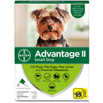 Advantage II S Dog 2 Doses