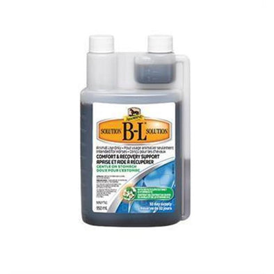 Absorbine B-L Solution, Comfort and Recovery Support, 950mls/32 day supply - Irvines Saddles
