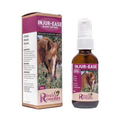 Riva's Remedies Horse:Injur-Ease (60ml)