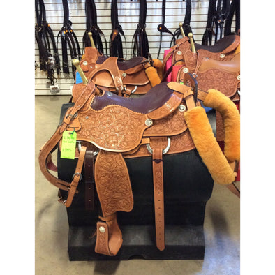 Billy Cook Trick Saddle 16""