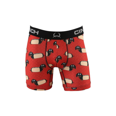 "Cinch 6"" Hot Dog Boxer Brief"