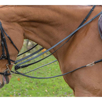 Avignon Leather Draw Reins