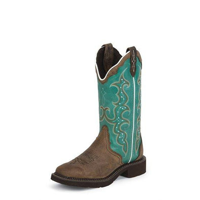 Justin Women's Raya Boots - Turquoise
