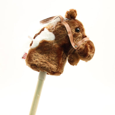 Talkin' Stick Horse Small Brown
