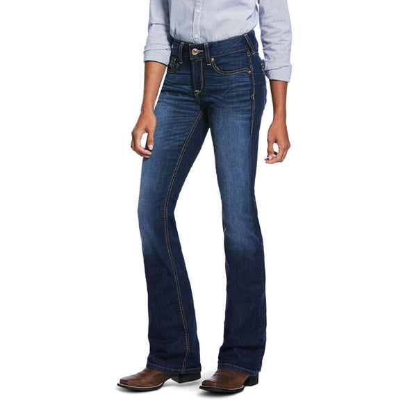 Ariat Women's Real Perfect Rise Stretch Sidney Boot Cut Jeans