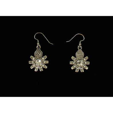 Blazin Roxx Earrings Spur Rowel Crystal