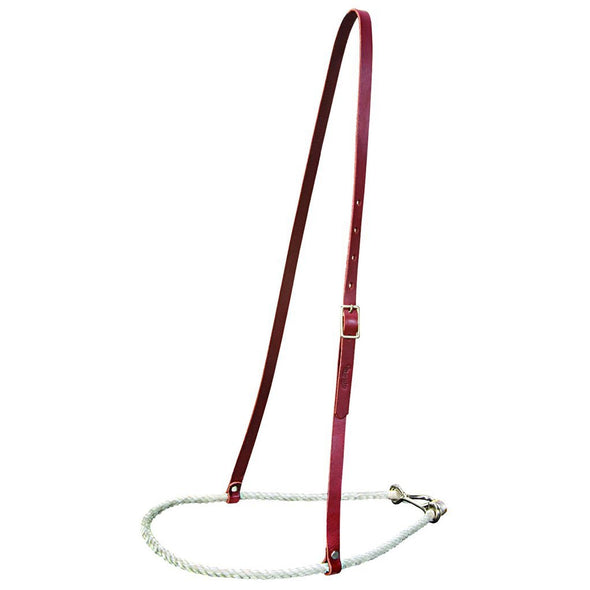 Weaver Rope and Latigo Leather Noseband