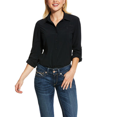 Ariat Women's VentTEK II STR LS Shirt Black