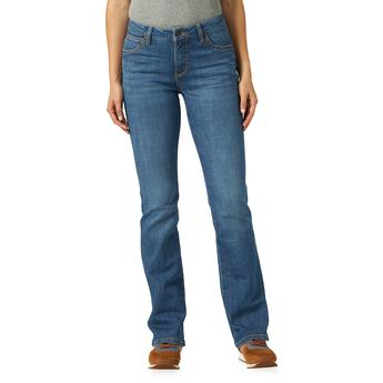 Aura From the Women at Wrangler Instantly Slimminy Jean - Mid rise - Gayle