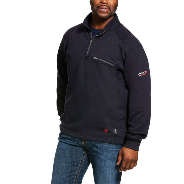 Ariat Men's FR Rev 1/4 Zip Top