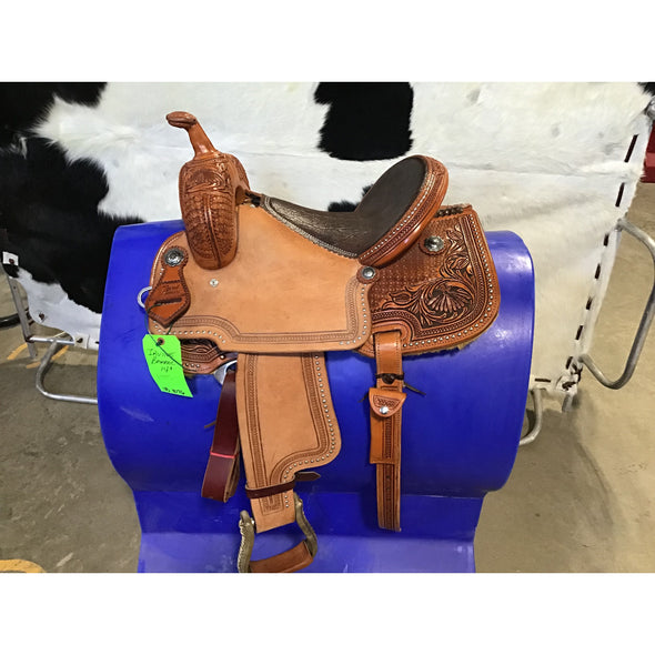 "Irvine 14""  Barrel Saddle"