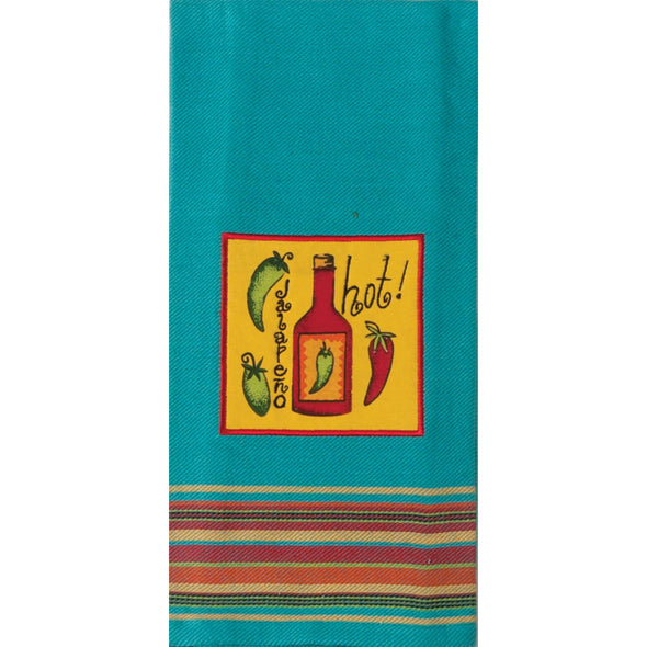 KD Hot Applique Tea Towel