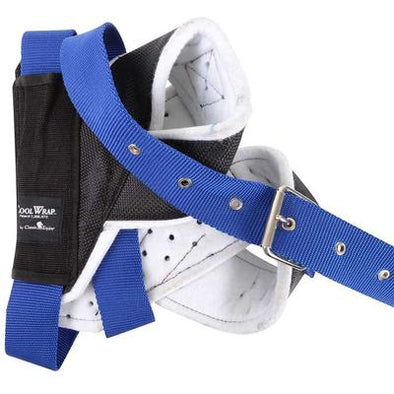 Horn Wrap Black w/ Blue  Strap