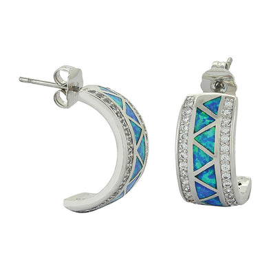 Montana Silversmiths River Lights Walking Along the Water's Path Cuff Earrings