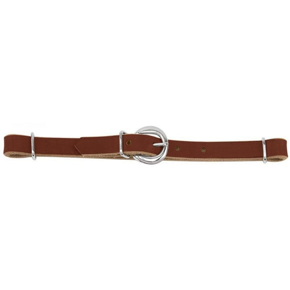 Weaver Horizons Straight Harness Leather Curb Strap - Sunset