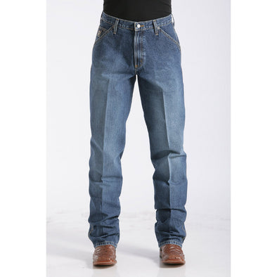 Cinch Men's Loose Fit Blue Label Jean - Medium Stonewash