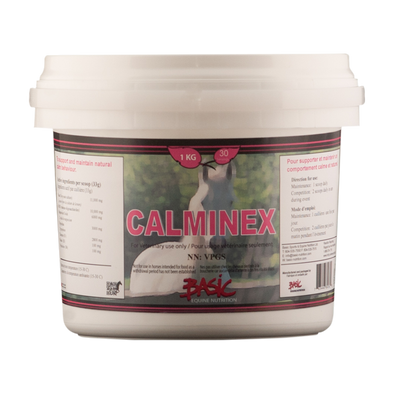 Basic Equine Calminex 1KG - Irvines Saddles