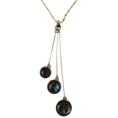 KC Necklace Abalone 3Drops